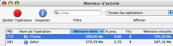 iTunes bouffe de la RAM
