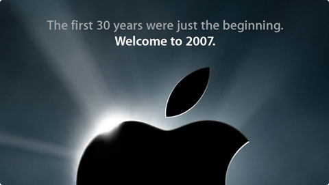 Logo Apple 2007