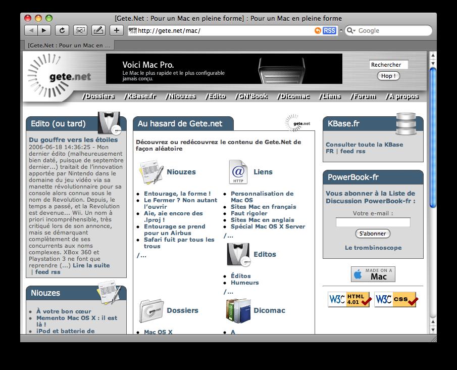Gete.Net Façon 2004