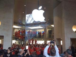 Apple Store Louvres, Ouverture