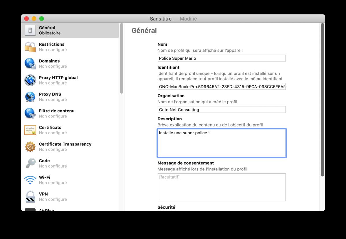 Apple Configurator 4