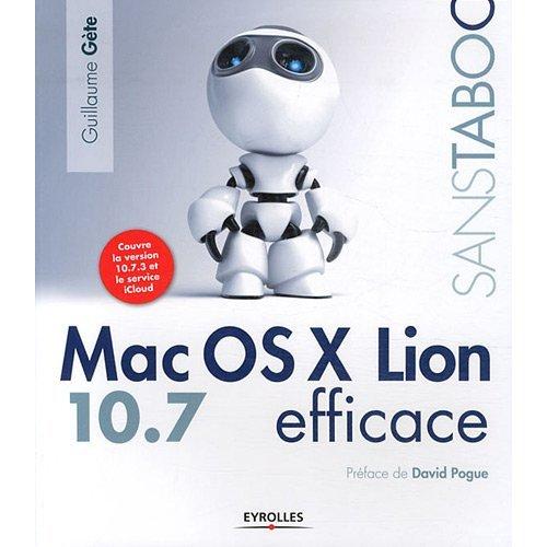 Lion Efficace, le livre