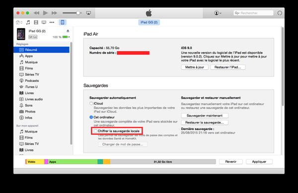 Chiffrement iOS1