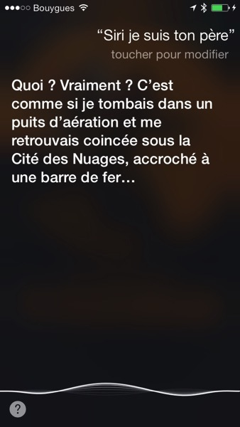 Siri Je suis ton Pere 01
