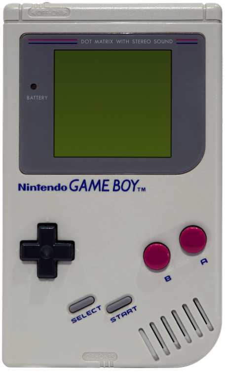Game Boy Grey Model