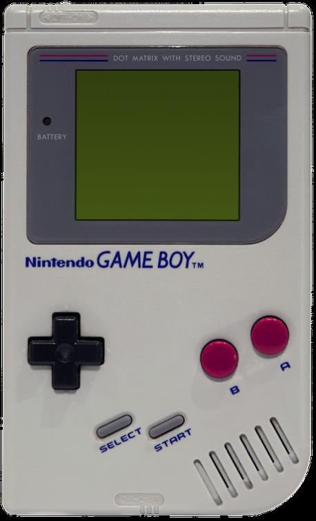 Game Boy Grey Model