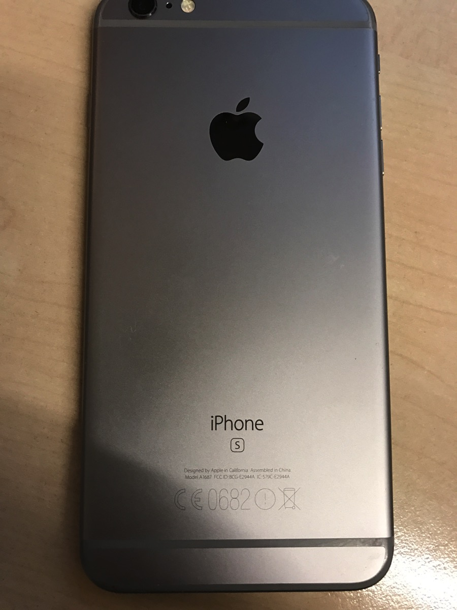 iPhone 6s+ - Back