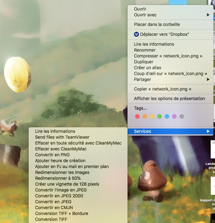 MacOS Reinitialiser Services