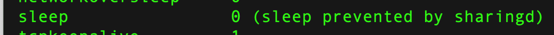 Pmset sleep