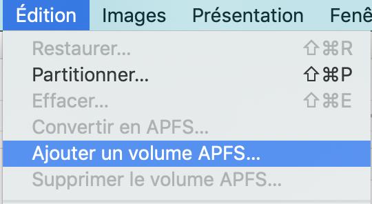 Conteneur APFS 03